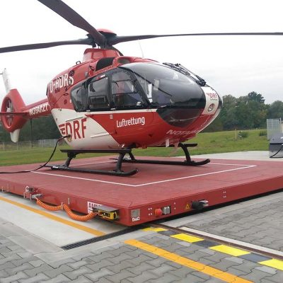 AMM Hubschrauberlandeplattform in Angermünde