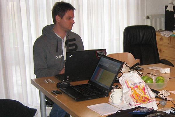 AMM GmbH, erstes Buero