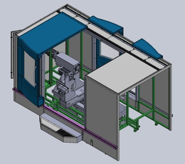 AMM Gmbmh - Konstruktion Schutzeinhausung