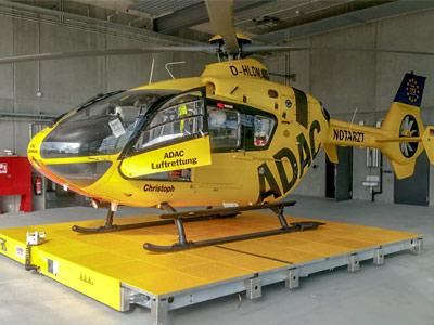 AMM Hubschrauberlandeplattform ADAC Ludwigshafen