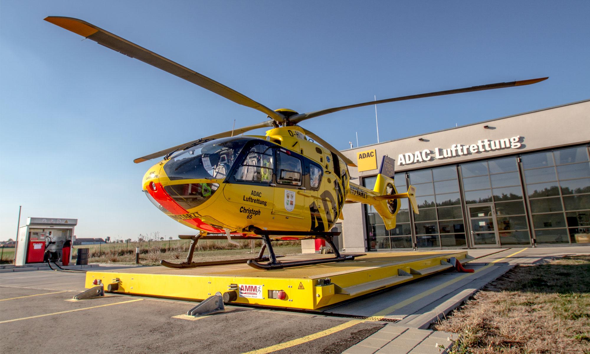 AMM Hubschrauberlandeplattform