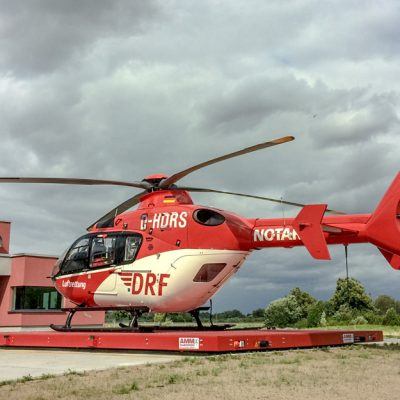Hubschrauberlandeplattform DRF Angermünde