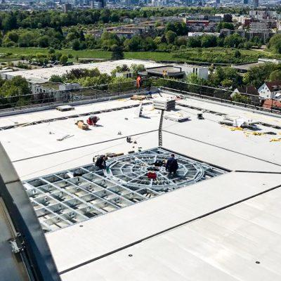AMM Hubschrauberlandeplattform Frankfurt BMI 5