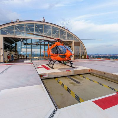 AMM Hubschrauberlandeplattform Frankfurt